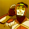damkianna: A cap of Bolin from The Legend of Korra, listening to fan screams. (Bolin's got some moves.)