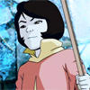 damkianna: A cap of Jinora from The Legend of Korra, looking determined. (Get off our island.)