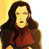 damkianna: A cap of Asami from The Legend of Korra, displeased. (The lies you people invent.)