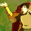 damkianna: A cap of Bolin from The Legend of Korra, gesturing with Tenzin's hands. (Oh hey there.)