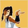 damkianna: A cap of Korra from The Legend of Korra. (Always a pleasure, Lin.)