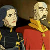 damkianna: A cap of Lin and Tenzin from The Legend of Korra. (Wouldn't have guessed.)