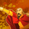damkianna: A cap of Tenzin from The Legend of Korra, losing his cool. (ref!, Come on)