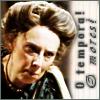 tibicina: Scowling woman with text 'O tempora! O mores!' (O Tempora)