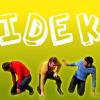 "laughingrat: Three ST crew members rolling around, captioned ""IDEK"" (IDEK)"