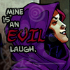 bluefall: Circe laughing like a loon (evil laugh)