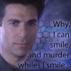 "aris_tgd: Mr. Morden, ""Why, I can smile, and murder whiles I smile"" (Morden murder)"