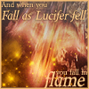 "aris_tgd: Whitestar crashing, ""And when you fall as Lucifer fell, you fall in flame"" (Whitestar Lucifer Fall)"