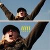 amaresu: Gym teacher being excited at winning (sttrinians-\o/)