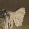 scintilla10: close-up of the Greek statue Victoire de Samothrace (Winged Victory)