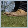 thedivinegoat: A photo close of someone's shoes standing on grass (My Photo - Shoes)