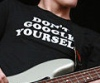 neqs: A picture of Mikey Way wearing t-shirt that says Don't Google Yourself. (mikeygoogle)