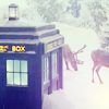 allandra_dax: Doctor Who's TARDIS in the snow (tardis in the snow) (Default)