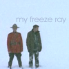 """darkemeralds: RayK and Fraser in the snow, caption """"My Freeze Ray"""" (Freeze Ray, Due South Call of the Wild)"""