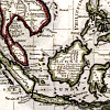 frangipani: old map of Southeast Asia (Nusantara)