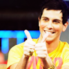 turlough: Gabe Saporta doing thumbs-up ((cs) gabe approves)