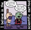 psocoptera: panel from Order of the Stick comic (scientific)