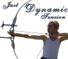 "memnus: Me with my bow at full draw, with quote ""Just Dynamic Tension"" (Dynamic Tension)"