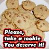 appleqb: plate o' cookies (take a cookie)