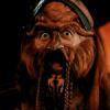 feuille: d'argo making his 0_0 face (shock)