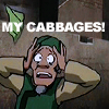 feuille: the cabbage dude from avatar (my cabbages)