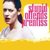 feuille: emily prentiss looking disgusted (stupid offends prentiss)