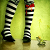 zanzando: (Striped Stockings)