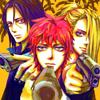 goldengrimoire: (Akatsuki AU Trio)