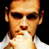 lannamichaels: Jonny Lee Miller with his finger in his mouth. (jl is pondering what you are pondering)