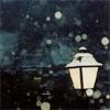 sprat: a lantern on a snowy street (lantern)