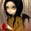 mechanicalbirds: (Girl: Demon With Apple)