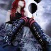 mechanicalbirds: (Girl: Red and Black Boots and Balloons)