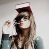 mechanicalbirds: (Girl: Book on Head)