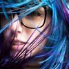 mechanicalbirds: (Girl: Blue Hair and Glasses)