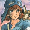 valleyofwind: Princess Nausicaa with her face dirtied from battle, looking determined.  (Default)