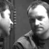 em_kellesvig: McKay and Sheppard grumpy with each other (SGAMcShepB&W)