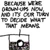 thebratqueen: We're grownups now (grownups now)