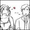 vorstellungen: A cherry girl meets a fool. (love)