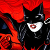 lilacsigil: Batwoman, red/black/white art (Batwoman)