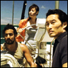 red_eft: Sun, Jin and Sayid from Lost on a boat. (ridiculously attractive people)