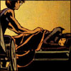 red_eft: Barbara Gordon tucks Cass Cain into bed.  (batgirls (always))