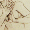 vanitashaze: Ambiguous hands around a throat. (liminality of violence and tenderness)