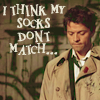 cloudyjenn: (Castiel's socks by heirofinsanity) (Default)