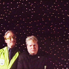 arethinn: MST3K mad scientists on a starry background (mst3k (mads in space))