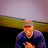 allchildren: CAPTAIN benjamin sisko wearing an sf giants cap because he is my husband (☄⁹ bye bye baby)