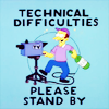 "allchildren: the simpsons' ""technical difficulties: please stand by!"" (⎚ brb dropping toaster in bathtub)"