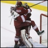 jedusaur: Oliver Ekman-Larsson climbing all over Mike Smith. <3 (huuuug)