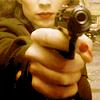 spatz: Peggy Carter aiming pistol (Peggy get your gun)