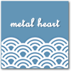 baggyeyes: Artistic work with the text 'Metal Heart'. (Metal Heart)