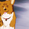 kaffyr: A happy smiling superintelligent Corgi (Ein is happy)